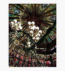 Ceiling Decor - Red and Green Photographic Print