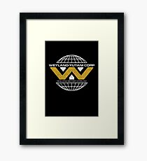 The Weyland-Yutani Corporation Globe Framed Print