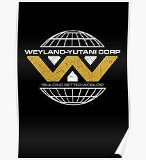 The Weyland-Yutani Corporation Globe Poster