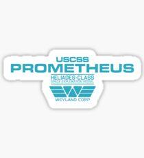 Prometheus - Weyland Corp - Crew Sticker