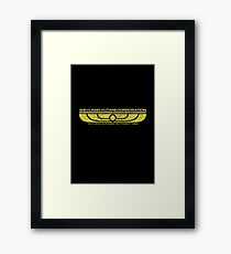 The Weyland-Yutani Corporation Wings Framed Print