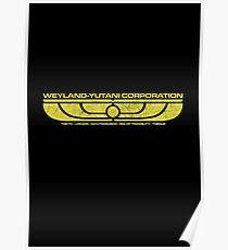 The Weyland-Yutani Corporation Wings Poster