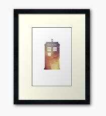 All of Time & Space Framed Print