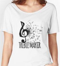 Treble Maker Music Pun Women's Relaxed Fit T-Shirt