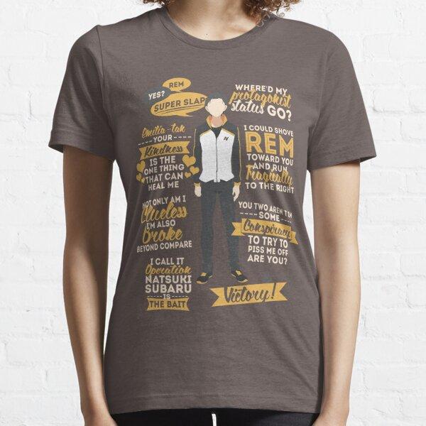 Natsuki Subaru Citations T-shirt essentiel