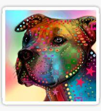 pitbull Sticker