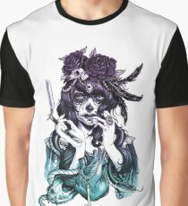 Dia de los Muertos - Night Shade Graphic T-Shirt
