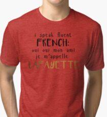 Fluent French Tri-blend T-Shirt