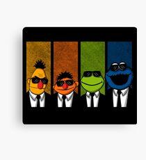 Reservoir Muppets Canvas Print