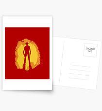Spaghetti Western Silhouette Postcards