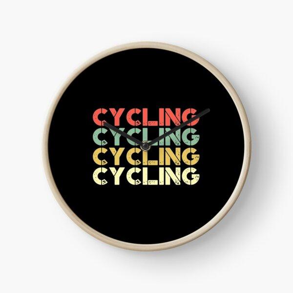 vintage cycling - retro cycling  Perfect Gift Clock