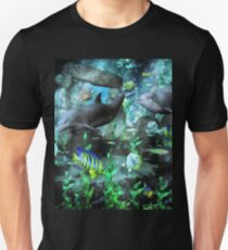 Dolphin's Under The Sea   Unisex T-Shirt