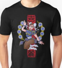 PIN UP FIGHTER Unisex T-Shirt