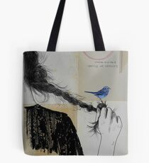 letters of flame Tote Bag