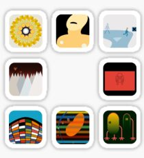 Now Apps What I Call Radiohead Sticker