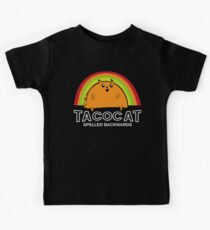Taco Cat Spelled Backwards Kids Clothes