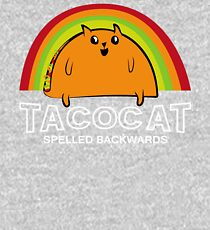 Taco Cat Spelled Backwards Kids Pullover Hoodie