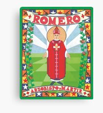 Archbishop Romero Icon Canvas Print