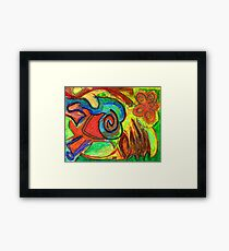 Mapping Nature Framed Print