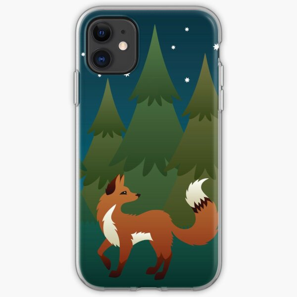 Forest Fox iPhone Soft Case