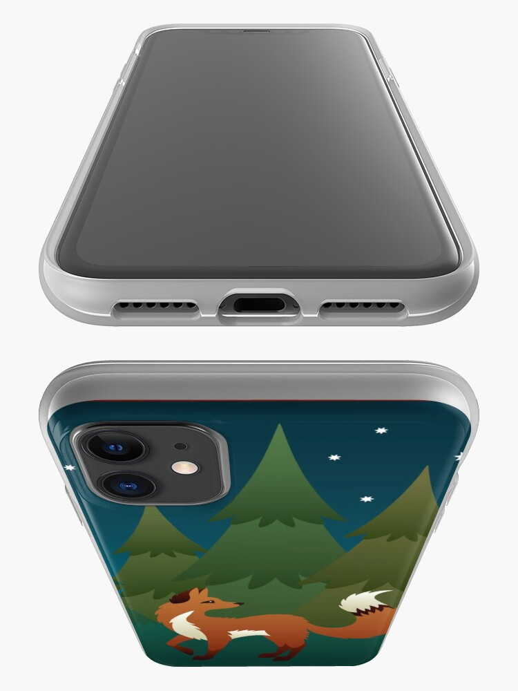Alternate view of Forest Fox iPhone Case & Cover