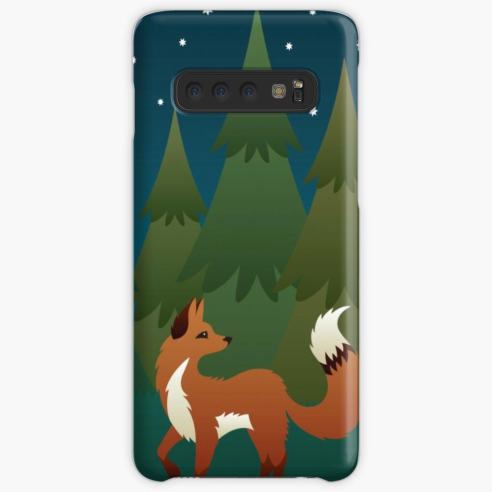Forest Fox Case & Skin for Samsung Galaxy