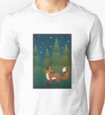 Forest Fox Unisex T-Shirt