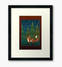 Forest Fox Framed Print