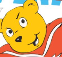 Superted Sticker