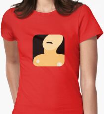 Now Apps What I Call The Bends Womens Fitted T-Shirt
