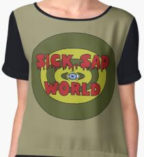 Sick Sad World Chiffon Top