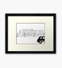 London Street Scene - Chiltern Street W1  Framed Print