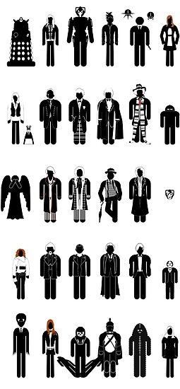 Dr Who recognition guide by mime666