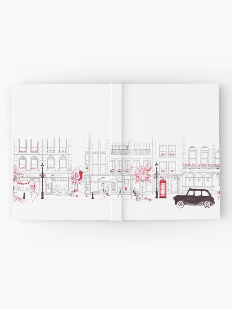 Alternate view of London Street Scene - Seven Dials Hardcover Journal