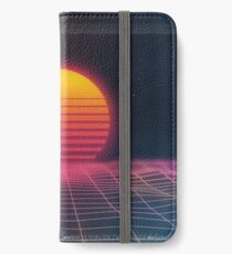 Vinilo o funda para iPhone Puesta de sol digital