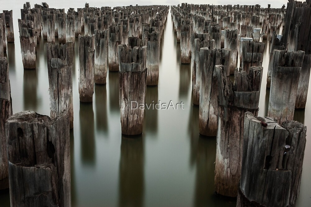 1094 Old Princess Pier by DavidsArt