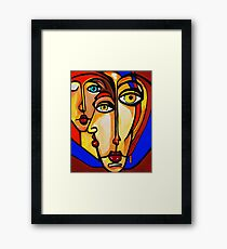 PICASSO PAINTING BY NORA   FRIENDS Framed Print