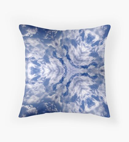dragons of the sky Throw Pillow