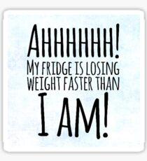 Weight Problems? Sticker