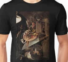 Monsters eating a Knight by Hieronymus Bosch Unisex T-Shirt