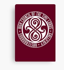 Doctor Who - High Council of the Time Lords - Gallifrey Canvas Print