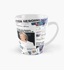Hillary Clinton Nomination Historic Newspapers Tall Mug