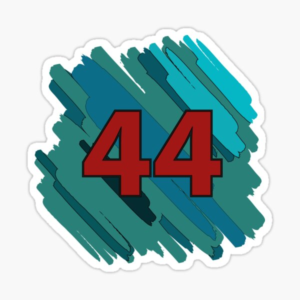 The Number of a Champion Sticker
