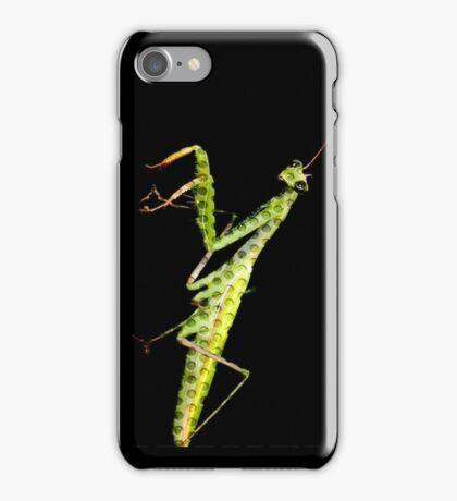 holy mantis iPhone Case/Skin