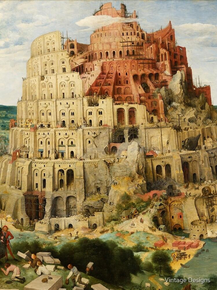 Pieter Bruegel Tower of Babel by Geekimpact