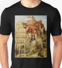 Pieter Bruegel Tower of Babel Unisex T-Shirt