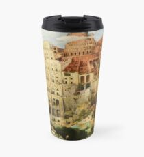 Pieter Bruegel Tower of Babel Travel Mug