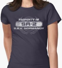 Vintage Property of SR2 Womens Fitted T-Shirt
