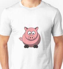 Cartoon Pig Unisex T-Shirt