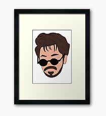 Andy Samberg, Saturday Night Live - Dick In A Box Framed Print